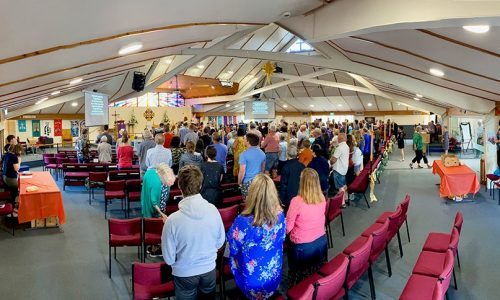 What a great day this past Sunday, Pentecost (31st!)