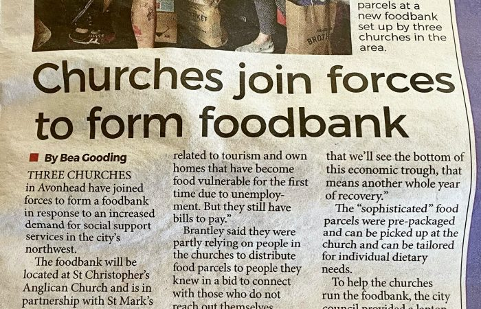 Food Pantry in the Press…