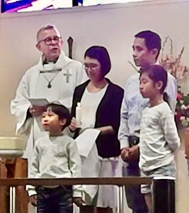 Baptisms young and youngish! :-)